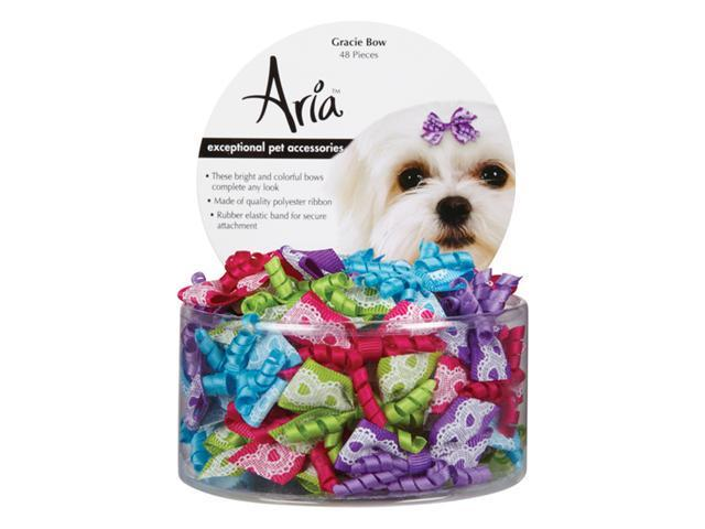 Aria DT911 48 Aria Gracie Bow Canister 48 Pcs