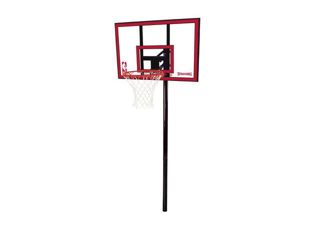 Spalding 88351 44 in. Polycarbonate In-Ground Basketball System