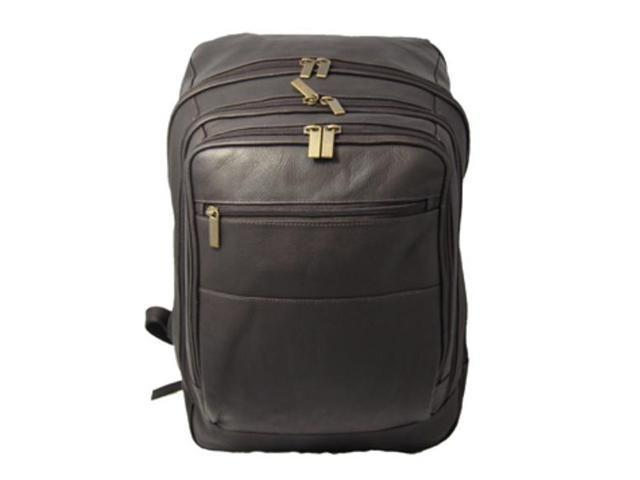 David King & Co 350C Oversized Laptop Backpack- Cafe