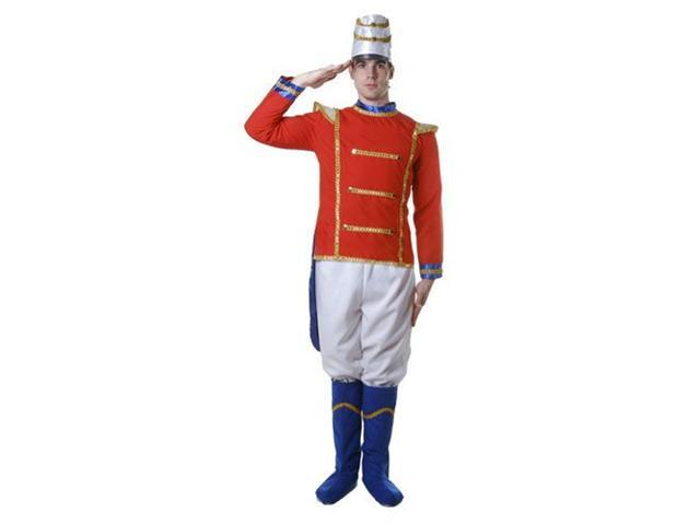 Dress Up America 344-XL Adult Toy Soldier Costume - Size X Large