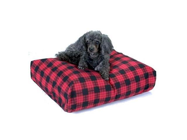 Snoozer SN-63107 Snoozer Rectangular Pillow Bed - Small-Denim