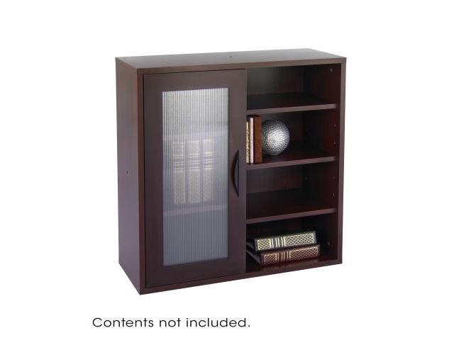 Après Single-Door Cabinet w/Shelves 29-3/4w x 11-3/4d x 29-3/4h Mahogany