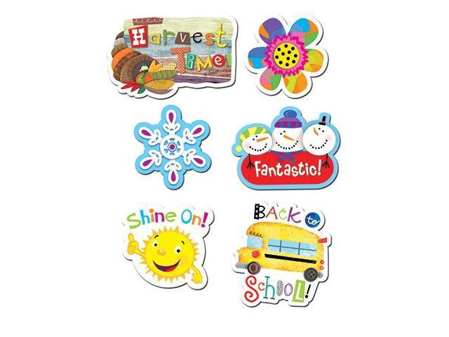 Creative Teaching Press CTP4138 Seasonal Stickers Variety Pack
