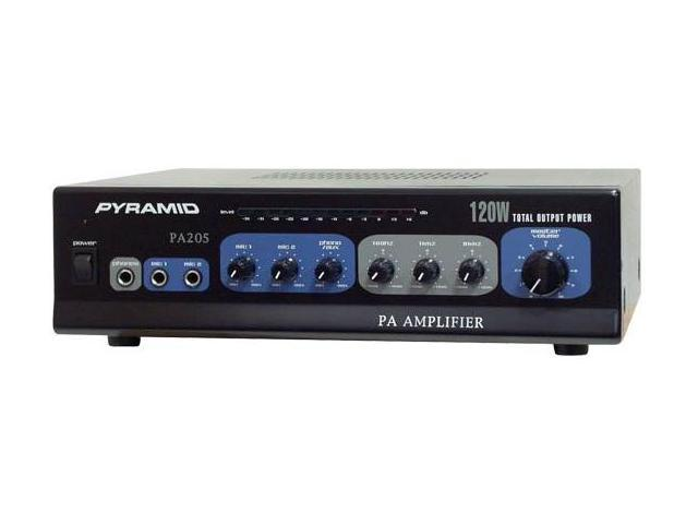 PYRAMID PA205 Amplifier with Microphone Input 120-Watt