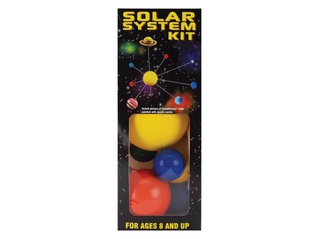 Smooth Foam Solar System Kit-Painted