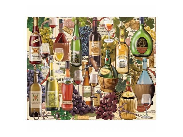 White Mountain Puzzles WM798 Jigsaw Puzzle 1000 Pieces 24 in. x 30 in. - Wine Country
