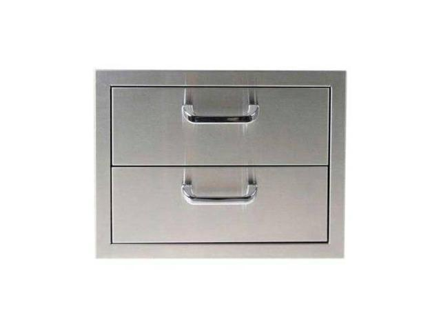 Outdoor Greatroom Company 2DRW No. 304 SS 2 Drawer Storage
