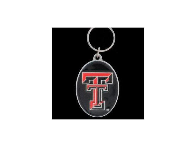 Siskiyou SportsSCK30 College Team Logo Key Ring- Texas Tech Red Raiders