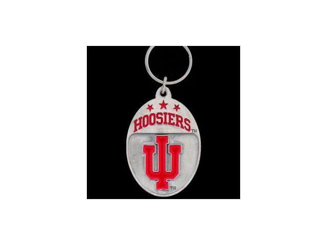 Siskiyou SportsSCK39 College Team Logo Key Ring- Indiana Hoosiers