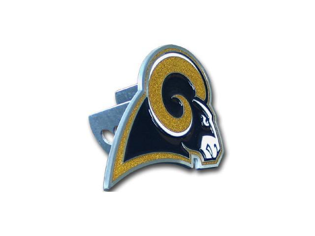 Siskiyou Gifts FTHS130S NFL Logo-Cut Hitch Cover- St. Louis Rams