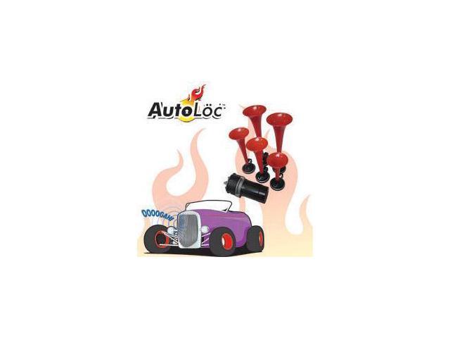 Autoloc HORN15 12v La Cucaracha Air Horn System