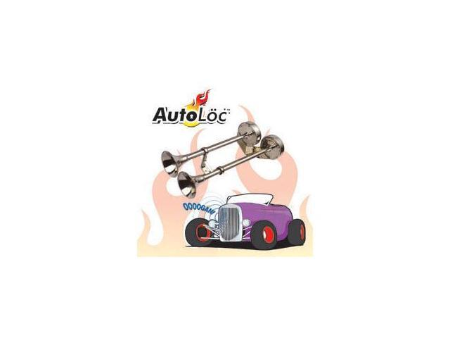 Autoloc HORN12 Abs Tri-tone Air Horn W/ Compessor