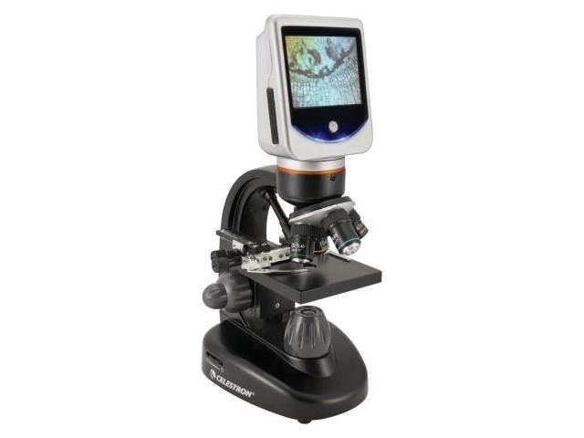 Celestron LCD Deluxe Digital Microscope w/ Rotatable Screen -EE
