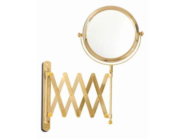 Upper Canada Soap D3756 Gold Plated Extension Mirror