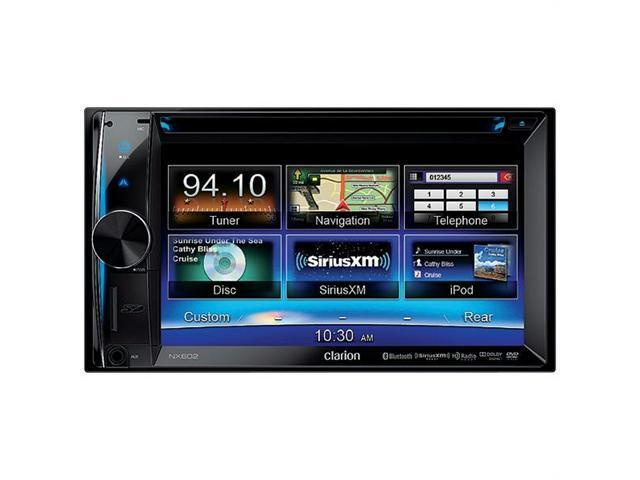 Buy Micro Innovations Car Video Players - Clarion NX602 6.2 in. Double-Din Navigation Multimedia Station With