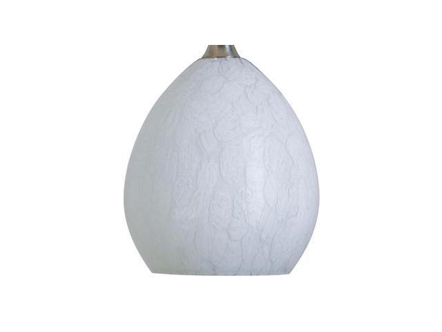 Nora Lighting NRS80-491W 5-1/4''D x 6-1/4''L Snow Shade - White