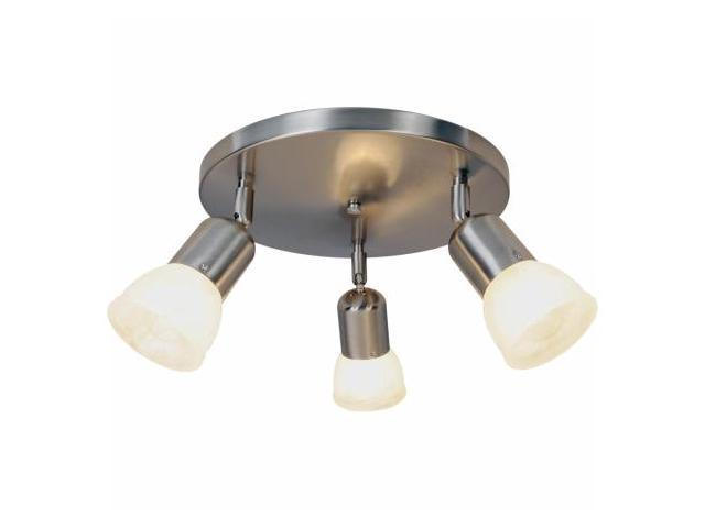 Quality Home Items 617620 Contemporary Lighting Collection, Canopy Ceiling Fixture, Brushed Nickel