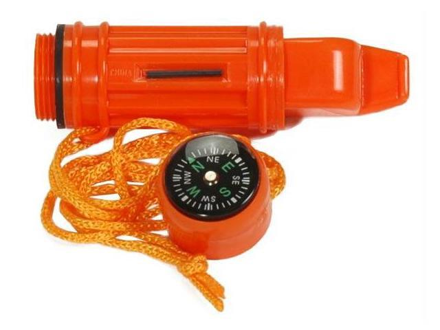 Guardian GDLCW5 5 In 1 Survival Loud Shrill Whistle - Orage