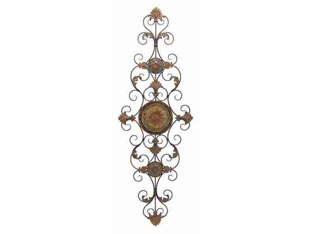 Benzara 42752 Metal Scroll Decor For Everlasting Decoration