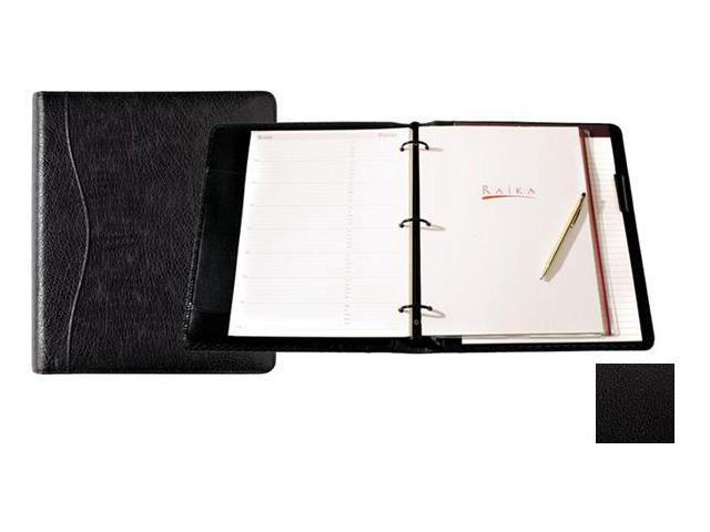 Raika TN 131 BLK 8in. x 11in. Ring Binder - Black