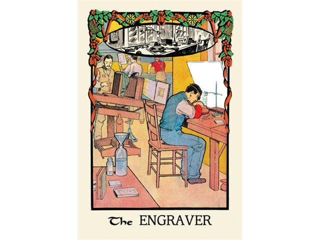 Buyenlarge 13571-9P2030 The Engraver 20x30 poster