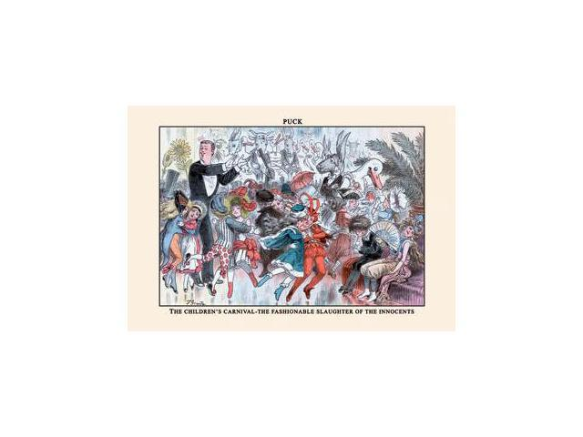 Buyenlarge 13752-5P2030 Puck Magazine - The Children-s Carnival 20x30 poster