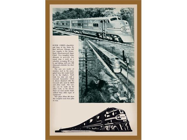 Buyenlarge 13429-1P2030 Super Chief 20x30 poster
