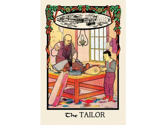 Buyenlarge 13592-1P2030 The Tailor 20x30 poster