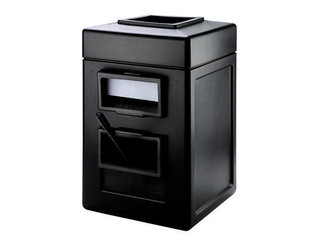 DCI Marketing 755101 Square Waste -Windshield Center - Black