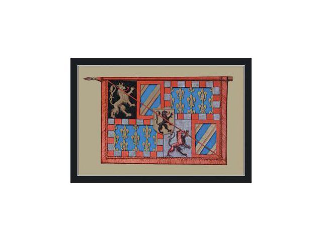 Buyenlarge 13090-3P2030 Banniere d&NO.39Antoine, Batard de Bourgogne 20x30 poster