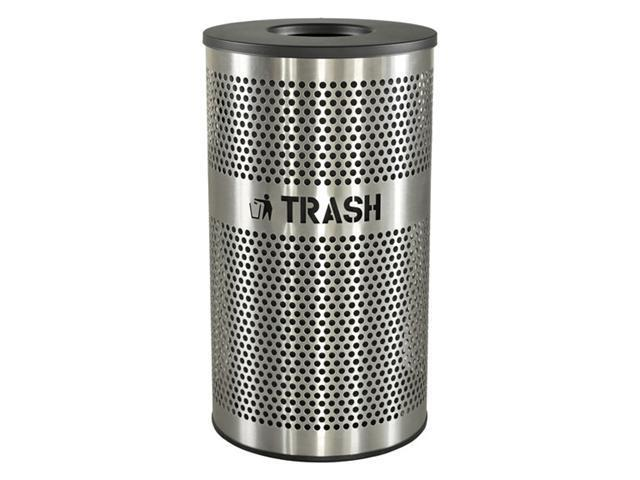 Ex-Cell Kaiser LLC VCT-33 PERF SS Venue Collection Trash Receptacle
