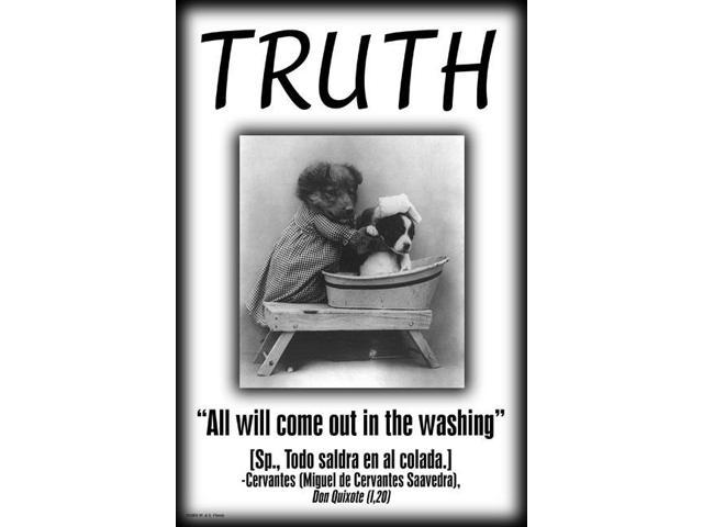 Buyenlarge 22393-6P2030 Truth 20x30 poster