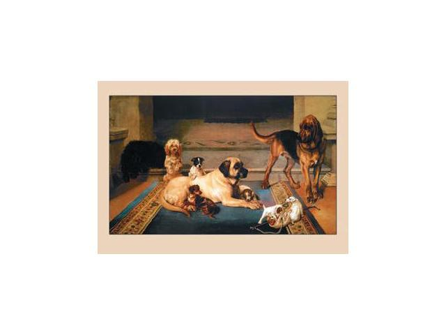 Buyenlarge 16080-2P2030 A Domestic Scene 20x30 poster