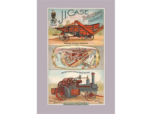 Buyenlarge 14507-2P2030 J.I. Case Threshing Machine Co., Racine, Wisconsin 20x30 poster