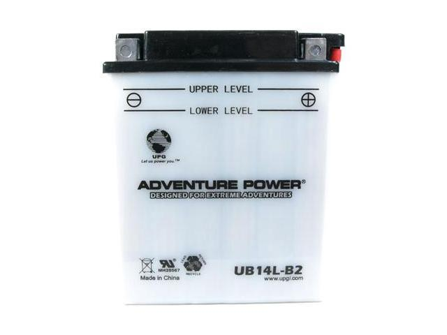 Universal Power UB14L-B2 Conventional 12 Volt Battery