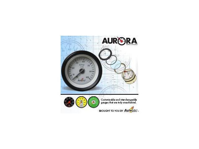 Autoloc GART Aurora Tachometer W/ Replaceable Face
