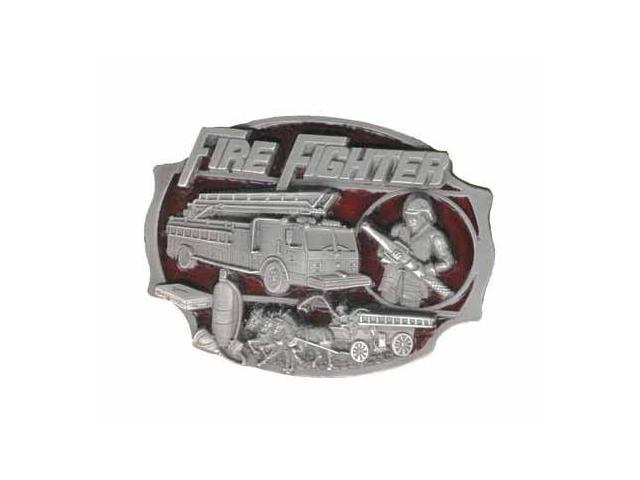 Siskiyou SportsAG13E Pewter Belt Buckle- Fire Fighter