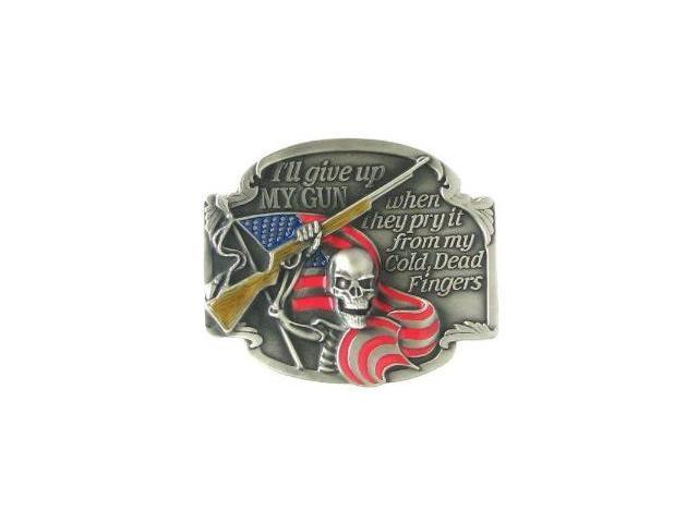 Siskiyou SportsG2E Belt Buckle- I ll Give Up My Gun