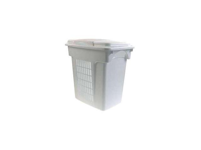 Rubbermaid Through-Handle Laundry Hamper  FG299000WHT - Pack of 6