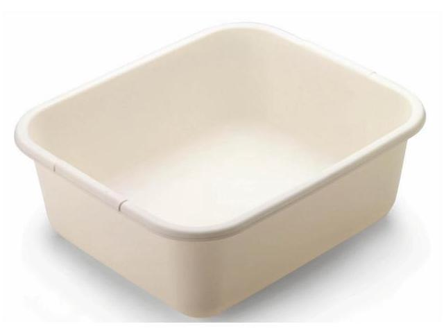 Rubbermaid 11.4 Quart Bisque Rectangle Dishpan  2951ARBISQU - Pack of 6