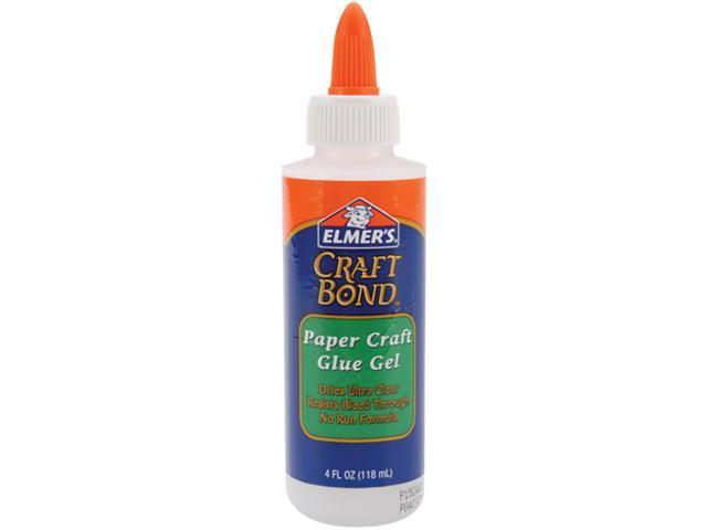 Elmers E433 Elmers Craft Bond Paper Craft Glue Gel
