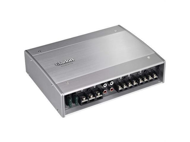 Clarion XC6410 Xc Series Marine Amplifier - 4-3-2-Channel Marine Power Amp; 600W Max; 125W X 4 Cont