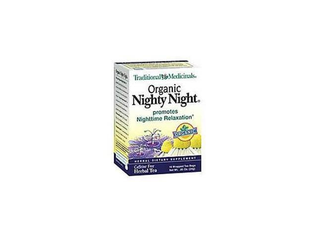 Traditional Medicinals 29005-3pack Traditional Medicinals Nighty Night Herb Tea - 3x16 bag