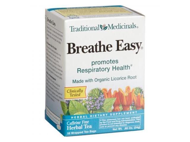 Traditional Medicinals 29001 Breathe Easy Herb Tea