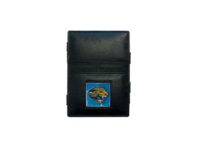 Siskiyou Gifts FJL175 Jaguars Leather Jacob s Ladder Wallet
