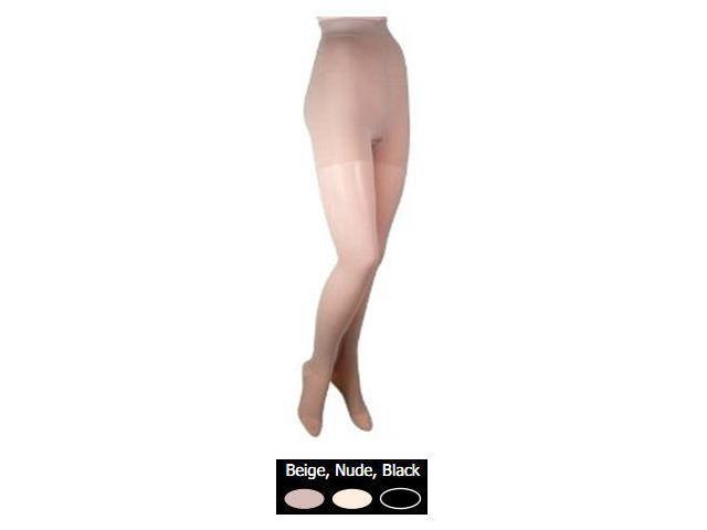 GABRIALLA Graduated Compression Pantyhose (sheer) - Firm Compression 20-30 mmHg - Queen