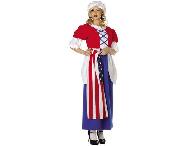 RG Costumes 81216 Betsy Ross Adult Costume - Standar