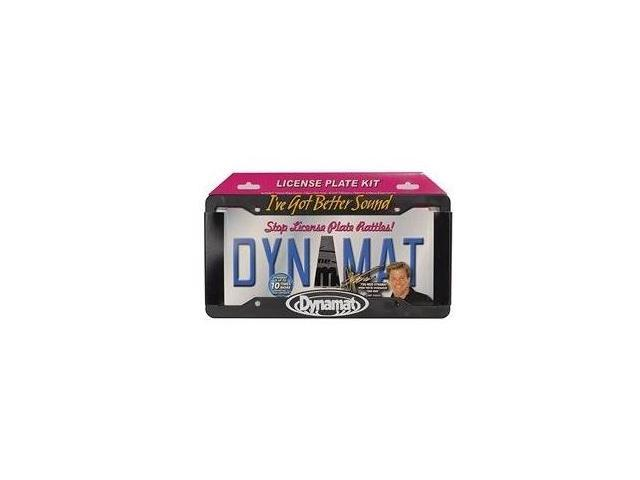 Dynamat 19100 Xtreme License Plate Kit - 4 x 10 Sheet with US Frame