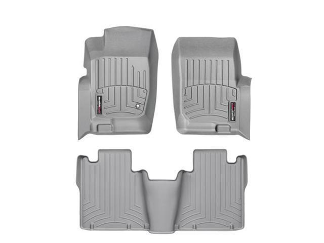 WeatherTech 46006-1-2 Front and Rear Floorliners Grey Ford Explorer 02-05