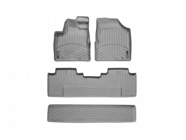 WeatherTech 46050-1-2 Front and Rear Floorliners Grey Honda Ridgeline 06-11